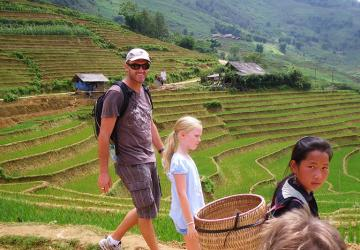 Sapa Trekking Tour 4 days with Thac Ba Lake