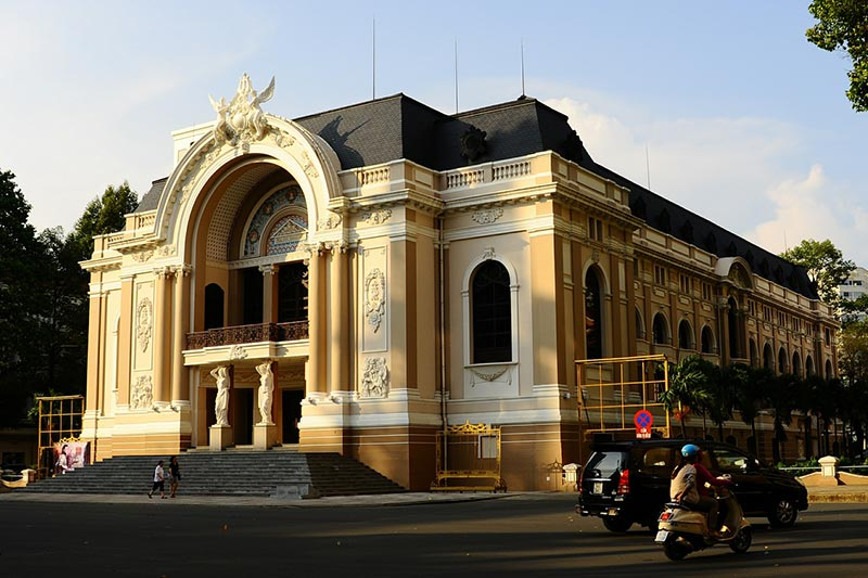Vietnam Holidays in Saigon Opera house