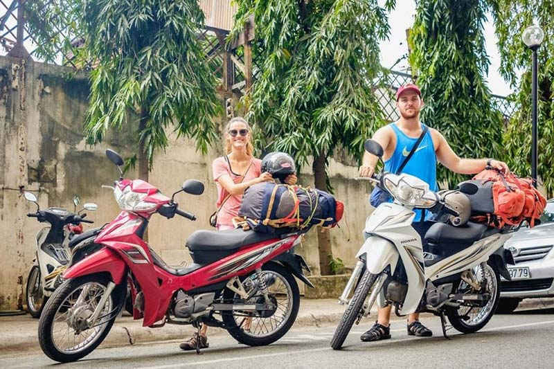 Motorbiking in Ho Chi Minh