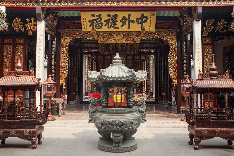 Ho Chi Minh Tours in Thien Hau Temple